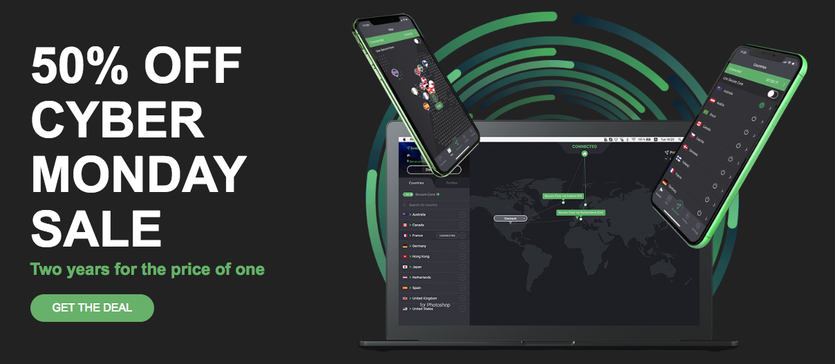signup with ProtonVPN